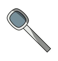 Spoon cutlery utensil vector