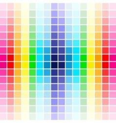 palette rainbow colors vector image vector image