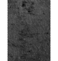 Abstract retro grunge texture concept vector