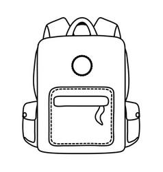 Bag school desgin vector