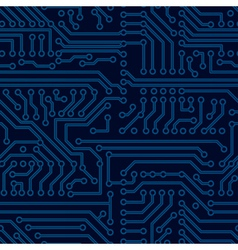 Circuit board seamless pattern vector