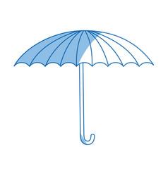 Circus umbrella fun equipment image vector