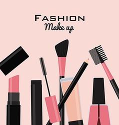fashion make up vector image