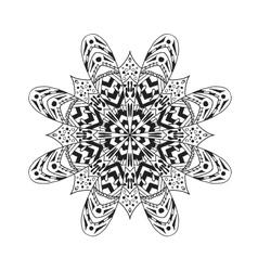 Mandala Ethnic abstract decorative elements vector