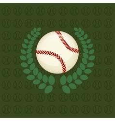 Baseball ball sport vector
