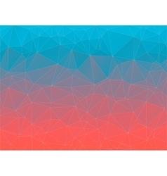 Gradient 2d triangle geometric multicolor vector