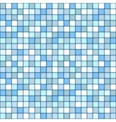 Mosaic seamless pattern square tile with pastel vector