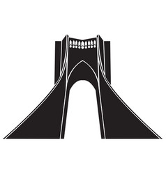 Azadi tower vector