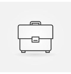 Briefcase icon or logo vector