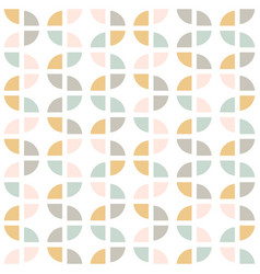 Modern abstract seamless geometric pattern vector