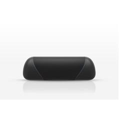 wireless portable speaker to listen music vector image