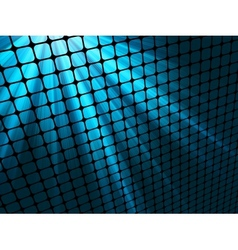 blue rays light vector image vector image