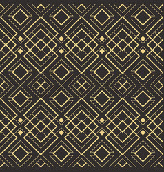 Abstract art deco seamless pattern 10 vector
