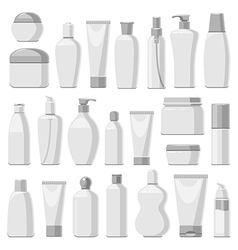 cosmetic monochrome vector image