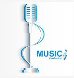 musical design concept vector image