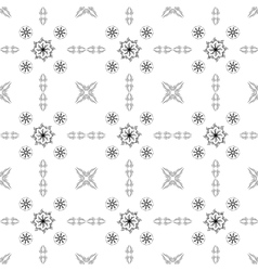 Abstract pattern in Oriental style Design wall vector image