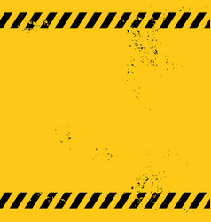 Blank warning banner vector