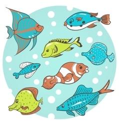 Fish fish vector