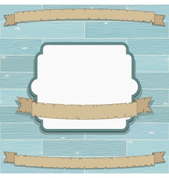 Frame and banners vector