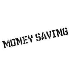 Money saving rubber stamp vector