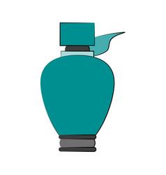 perfume bottle icon image vector image