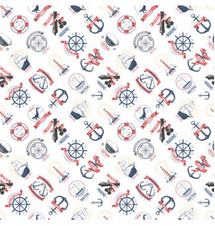 Nautical marine sea anchor design graphics vector