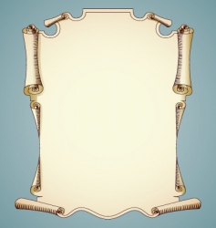 parchment background vector image vector image