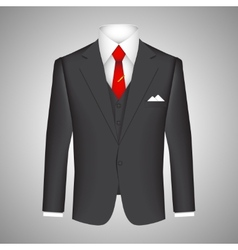 Business suit concept vector image