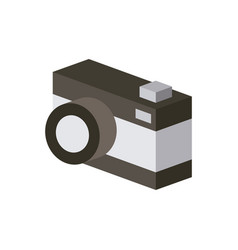 camera isometric design vector image