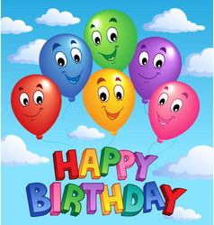 Happy birthday topic image 3 vector