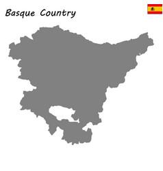 high quality map autonomous community of spain vector image