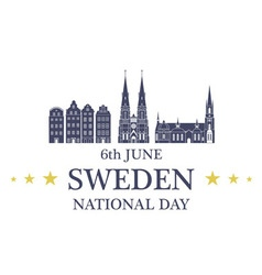 Independence Day Sweden vector