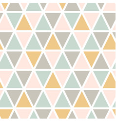 Modern abstract seamless triangle pattern vector