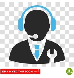 Service Manager Eps Icon vector