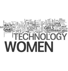 What does tech have to do with women s rights vector