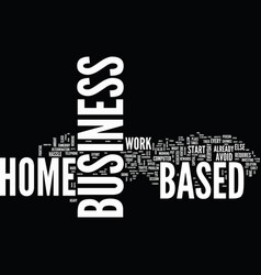 are you ready to invest in a home based business vector image