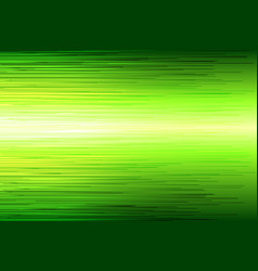 green high speed line abstract background vector image vector image