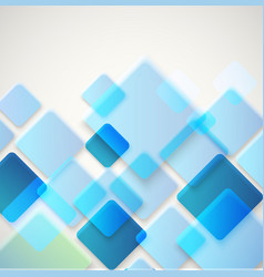 Abstract background of different color square vector