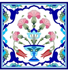 Artistic ottoman pattern series seventy one vector