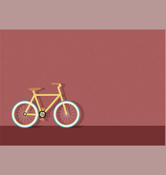 bike in town vector image