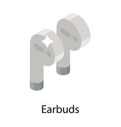 Earbuds vector