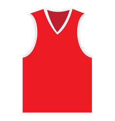 isolated sport uniform vector image
