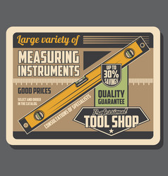 level measuring instrument construction tool vector image