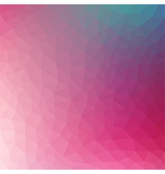 Pink polygonal background vector