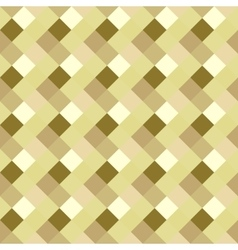 Seamless geometric pattern Diagonal square vector image