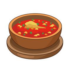 Delicious mexican often traditional food vector