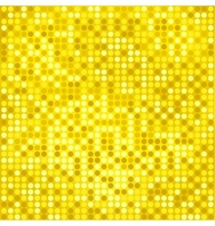 disco gold background vector image