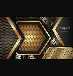 Elegant and futuristic abstract decoration vector