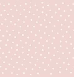 Polka dot seamless pattern in popular colors vector
