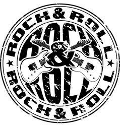 rnr stamp vector image vector image
